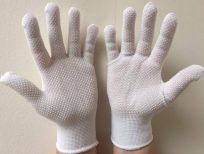 Manusi din bumbac, nylon cu puncte PVC