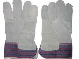 manusi din piele cu textil